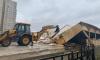 В Колпино снесли десяток незаконных торговых павильонов