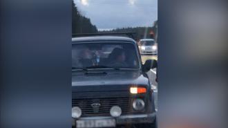 """Подросток угнал машину у родителей и катался на ней по трассе """"Скандинавия"""""""