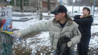 Жители Красногвардейского района очистят улицы от несанкционированной рекламы