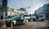 ДТП В Ростове: полицейский УАЗ не поделил дорогу с Мерседесом