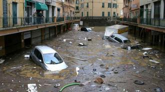 Милан затопило
