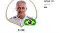 Главный тренер бразильской команды снимает стресс ...