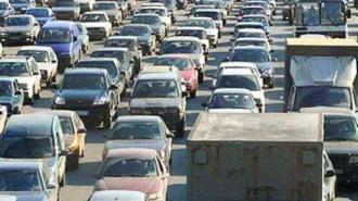 В Петербурге на КАД образовалась 8-километровая пробка из-за массового ДТП
