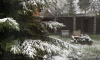 Во вторник в Петербурге выпал мокрый снег