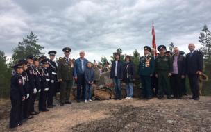 В Выборге прошли мероприятия к 75-й годовщине совершения подвига Героем Советского Союза Константином Шестаковым