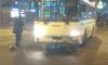 В Рыбацком мотоциклист столкнулся с автобусом