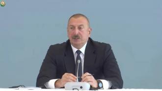 """Алиев пригрозил Армении решить вопрос с Зангезурским коридором """"при помощи силы"""""""