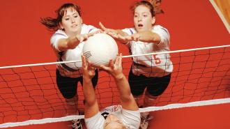 Финал районного чемпионата по волейболу среди женщин