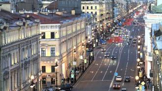 В воскресенье, 16 марта, Невский проспект будет перекрыт из-за автопробега в поддержку Крыма