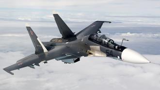Российский истребитель Су-30 пригрозил пуском ракет самолетам Франции