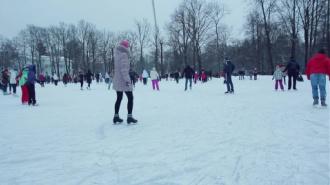 """Ночные катания на коньках в """"Айс Град"""""""