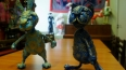 Коты на даче, Музей кошки