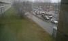 На Светлановском водитель Mercedes выстрелил в женщину и уехал по тротуару