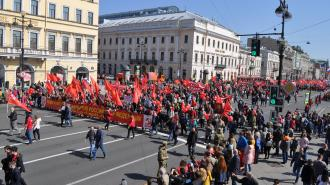 В Петербурге не будет шествия на 1 мая