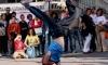 Спортивный праздник ко Дню молодежи: стритбол, велотриал, брейк-данс