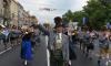По Петербургу маршировали 800 военных музыкантов
