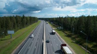 "Движение по трассе ""Скандинавия"" изменят из-за строящейся развязки"