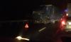В Ленобласти произошла страшная авария с лобовым столкновением двух фур