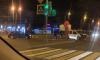 Два автомобиля столкнулись на перекрестке Богатырского проспекта и Гаккелевской улицы