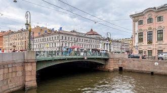 Зеленый мост через Мойку отремонтируют за 502 млн рублей