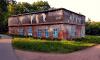 Стены заброшенного здания в Павловске украсили картинами Рубенса