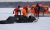 На Финском заливе спасли с отколовшейся льдины 16 рыбаков