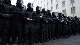 """Полиции не приказывали предпринимать """"жесткие действия"""" на митинге Навального."""