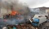 Пожар на складе пиротехники в Чите локализован