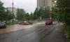 В Петербурге из-за испытаний теплосетей затопило проезжую часть кипятком