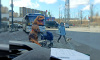 """Человека в костюме динозавра заметили недалеко от метро """"Парнас"""""""