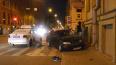 На углу Казанской и Гороховой две машины влетели в дом