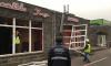 На Байконурской снесли незаконный шашлычный ресторан