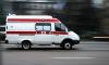 В Петербурге «Скорая» столкнулась с двумя полицейскими авто и скрылась