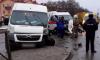 В Брянске столкнулась маршрутка и скорая помощь
