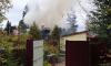 Пожар в Новом Токсово тушили девять человек