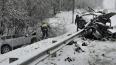 В ДТП с лесовозом у Красносельского погибли двое мужчин