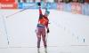 Россиянка Юрлова завоевала золото в гонке преследования на кубке мира по биатлону