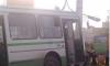 В ДТП с автобусом на юге Петербурга пострадали три человека