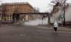 Разлив кипятка превратил Васильевский остров в Silent Hill