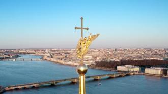 В Петербурге раздался выстрел из пушки в честь Дня Победы