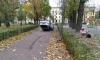 Загадочное ДТП: в Палевском саду лежал  перевернутый на крышу Subaru