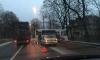 Под Петербургом автобус с пассажирами влетел в дерево
