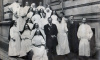 В больнице Святой Марии Магдалины открыли памятник сестре милосердия