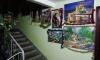 В Красногвардейском районе петербуржец украсил подъезд картинами и мишурой
