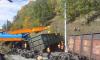 На Восточной-Сибирской железной дороге с рельсов сошли 12 грузовых вагонов