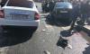На Бухарестской легковушку отбросило в трёх пешеходов: пострадавших госпитализировали