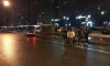 На Ленинском проспекте пешеход угодил под машину такси