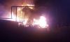В Новосибирске сильный пожар уничтожил гостиницу