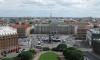 Движение на Исаакиевской площади ограничено почти на год из-за ремонта Синего моста
