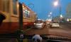 На Народной улице паровозик из четырех машин устроил большую пробку